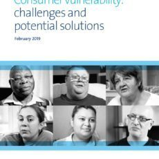 Cover: CMA Consumer vulnerability