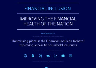 Cover: Financial Inclusion Commission, Improving access to household insurance