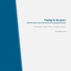 Cover: University of Bristol, Paying to be poor